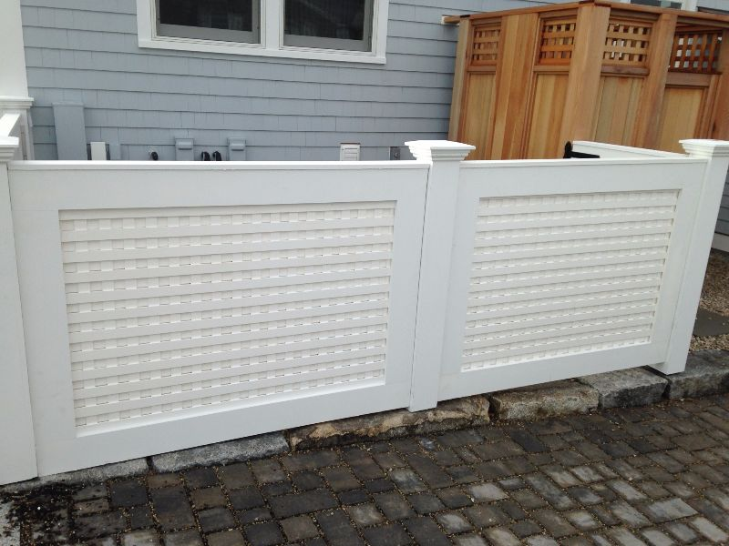 Azek Fence Seacoast Nh Platinum Fence Hampton Nh 03842