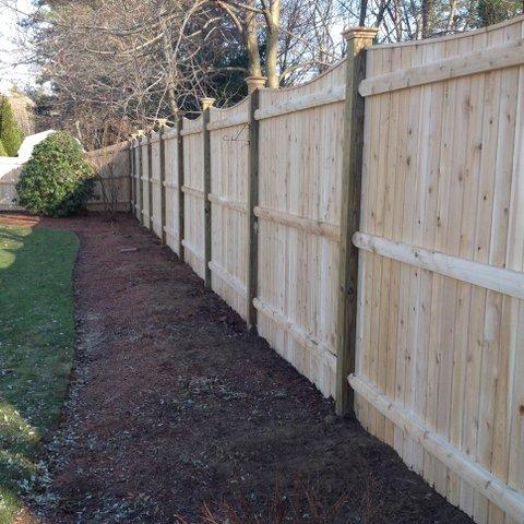 Stockade Fence Seacoast Nh Platinum Fence Hampton Nh