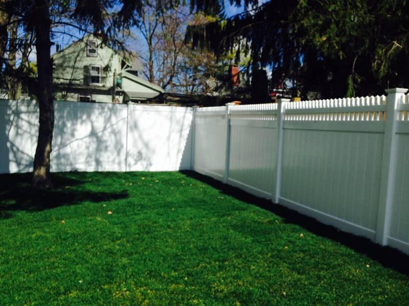 Semi Privacy Fence Seacoast Nh Platinum Fence Hampton