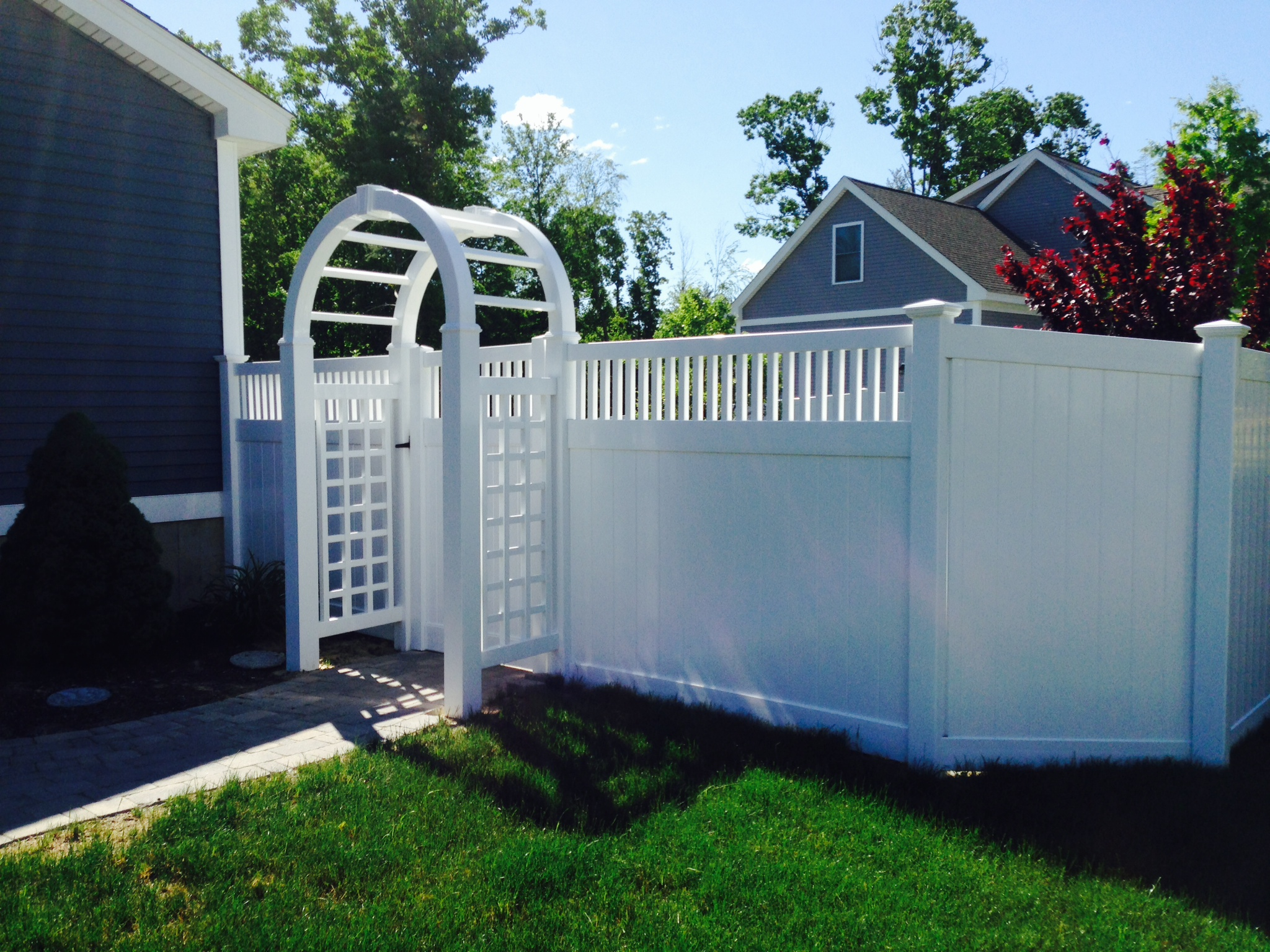 Privacy Fence Seacoast Nh Platinum Fence Hampton Nh 03842