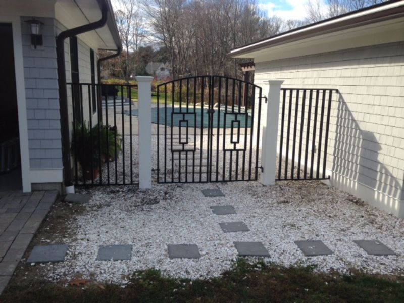 Custom Wrought Iron Fence Seacoast Nh Platinum Fence