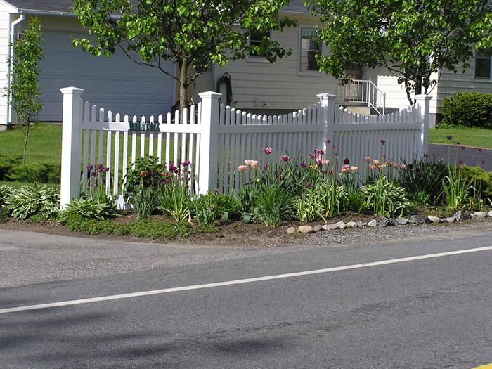Picket Fence Seacoast Nh Platinum Fence Hampton Nh 03842