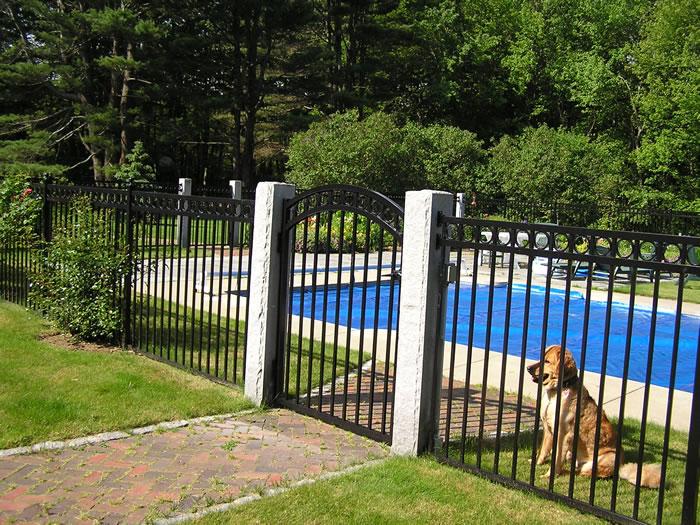 Pool fence seacoast nh platinum hampton