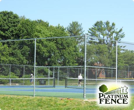 seacoast nh fencing Fence Applications Tennis Courts