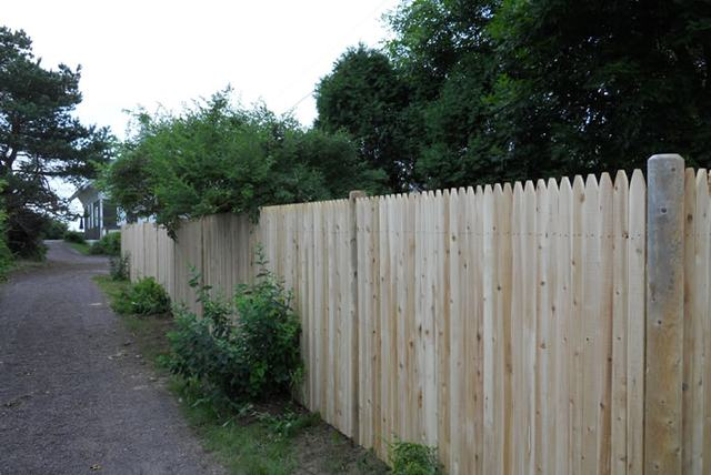 seacoast nh fencing Fence Styles Stockade