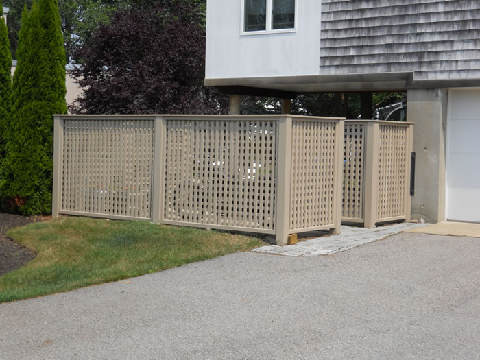 Enclosures Fence Seacoast Nh Platinum Fence Hampton