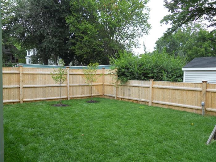 Northern White Cedar Fence Seacoast Nh Platinum Fence