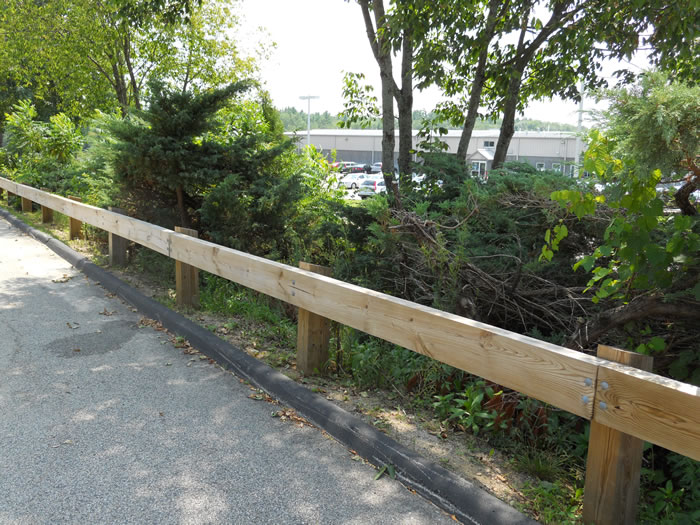 Guard rails fence seacoast nh platinum hampton